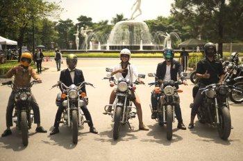 """""""Ngày hội quý ông"""" thu hút 400 biker tại Hà Nội"""