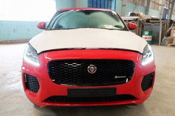 Jaguar E-Pace về Việt Nam chuẩn bị trình diễn tại VMS 2018