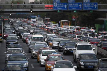 Thị trường ôtô Trung Quốc sụt giảm mạnh nhất trong 7 năm
