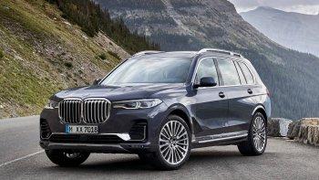 BMW X7 2019: SUV cỡ lớn cạnh tranh Mercedes GLS