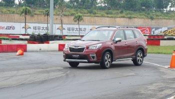 VMS 2018: Subaru trình làng Forester 2.0i-S, lái thử trải nghiệm Core Technologies