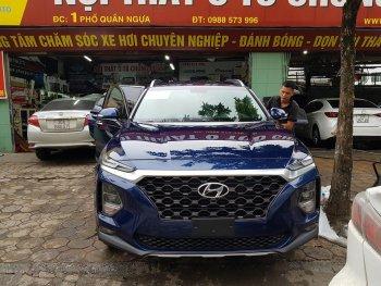 Hyundai SantaFe 2019 xuất hiện trên phố tại Hà Nội