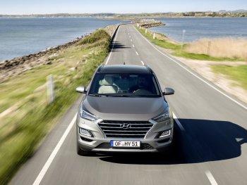 Hyundai Tucson 2018 bản facelifted máy dầu có hybrid nhẹ