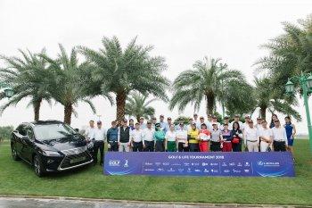 Lexus đồng hành cùng Golf & Life Tournament 2018