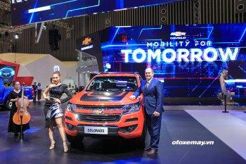 VMS 2018: Chevrolet trình làng phiên bản đặc biệt Colorado Storm và Trailblazer Perfect Black