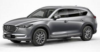 Mazda CX-8 nâng cấp động cơ 2.5L turbo và công nghệ GVC Plus
