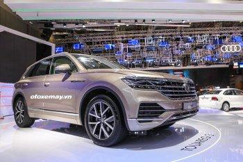 Volkswagen Touareg 2019 về Việt Nam với mục đích tìm hiểu thị hiếu khách hàng