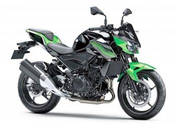 EICMA 2018: Kawasaki Z400 có cùng ngôn ngữ thiết kế với siêu phẩm Ninja H2