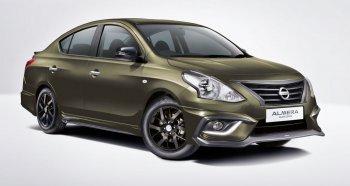 Nissan Almera thời trang hơn với gói độ xe Black Series