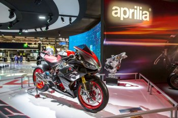 EICMA 2018: Sportbike đường phố Aprilia RS 660 ứng dụng thiết kế xe đua