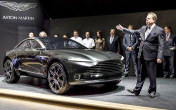 Aston Martin chốt lịch ra mắt xe SUV đầu tiên DBX quý IV/2019
