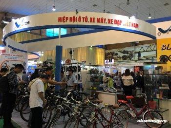Triển lãm Xe hai bánh Vietnam Cycle 2018 khai mạc tại Hà Nội