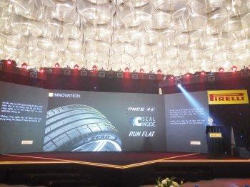 Pirelli giới thiệu lốp xe tính năng cao dành cho Việt Nam