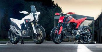 Honda tiết lộ hai mẫu xe ý tưởng CB125X và CB125M