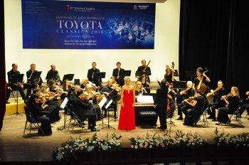 Đêm nhạc Cổ điển Toyota 2018 diễn ra thành công tại Tp.HCM