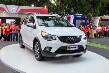 VinFast Fadil - xe cỡ nhỏ hoàn toàn mới có giá từ 423 triệu đồng