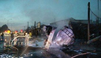 Vụ tai nạn khiến 6 người chết: Xe bồn liên tục vượt tốc độ cho phép