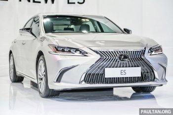 Toyota trình làng sedan hạng sang Lexus ES 250