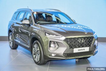 Hyundai tung ra Santa Fe 2019