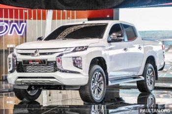 Mitsubishi Triton 2019 khoe dáng trước khi về Việt Nam năm 2019