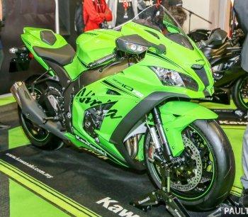 Chùm ảnh siêu môtô Kawasaki Ninja ZX-10RR và ZX-6R 2019 giá từ 444 triệu đồng