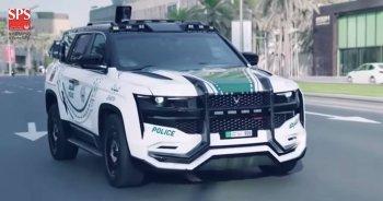 """""""Siêu SUV"""" hiện đại bậc nhất thế giới của cảnh sát Dubai"""