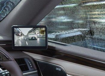 """Lexus """"khoe"""" gương chiếu hậu thông minh trên ES 2019"""
