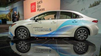 Toyota Corolla Hybrid 2020 lần đầu đến Mỹ