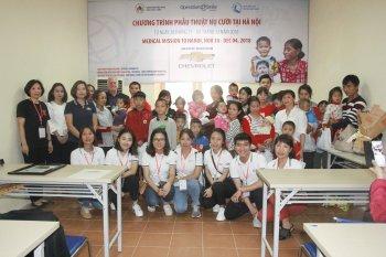 GM Việt Nam mang tới chương trình phẫu thuật miễn phí cho trẻ em hở hàm ếch