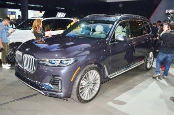 BMW X7 2019 giá bán từ 73.900 USD