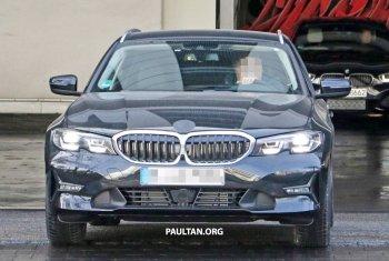 BMW 3 Series Touring 2019 tiếp tục hoàn thiện đẹp mắt