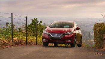 Nissan Leaf E-Plus chuẩn bị ra mắt CES 2019