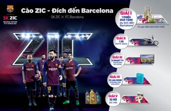 Thay SK ZIC, nhích gần hơn đến quê hương của đội bóng Barcelona