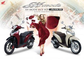 Honda Việt Nam giới thiệu màu sơn mới cho SH 125/150cc và bổ sung ABS cho SH Mode