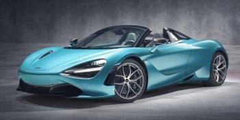 Xe mui trần McLaren 720S Spider tăng tốc 0-100 km/h trong 2,9 giây