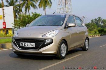 Hyundai Santro gây sốt tại Ấn Độ