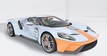 Siêu phẩm Ford GT Heritage Edition 2019