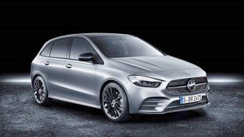 Xe gia đình Mercedes-Benz B-Class 2019 có khả năng lái bán tự động