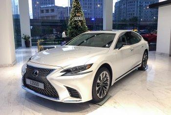 Lexus LS mới có giá cao nhất 8,75 tỷ đồng tại VN