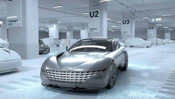 Hyundai trình diễn công nghệ sạc không dây cho xe điện