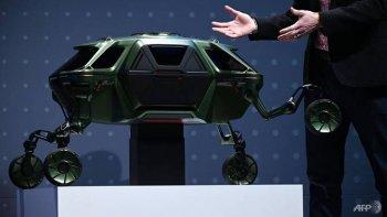"""Ngắm """"xe có chân"""" của Hyundai tại CES 2019"""