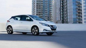"""CES 2019: Nissan Leaf E+ """"đáp lễ"""" Hyundai Kona bằng khối pin nâng cấp"""