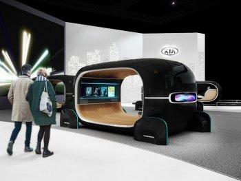 """CES 2019: Kia ra mắt công nghệ """"đọc"""" tâm trạng tài xế"""