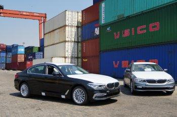 Lô xe BMW 5 Series 2019 chính hãng cập cảng tại Sài Gòn