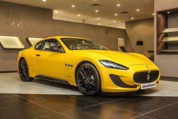 Khu trưng bày Maserati tại Vincom Metropolis đi vào hoạt động