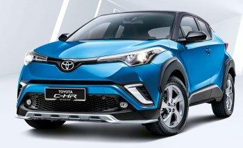 Toyota C-HR 2019 thêm công nghệ và gam màu trẻ trung