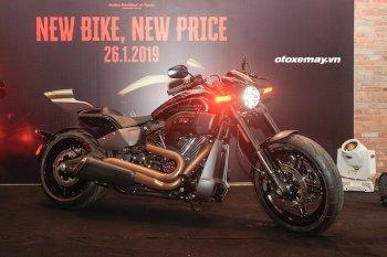 Harley-Davidson Việt Nam ra mắt FXDR 2019 và công bố giá bán xe mới cho 2019