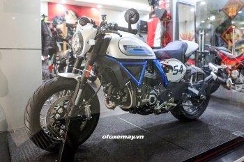 Cận cảnh Ducati Scrambler Café Racer 2019 chính hãng tại VN