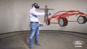 Ford dùng công nghệ thực tế ảo thiết kế xe hơi