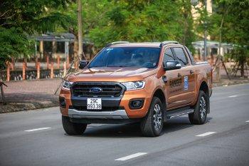 Ford Ranger Wiltrak Bi-Turbo 2018 thay đổi nội hàm